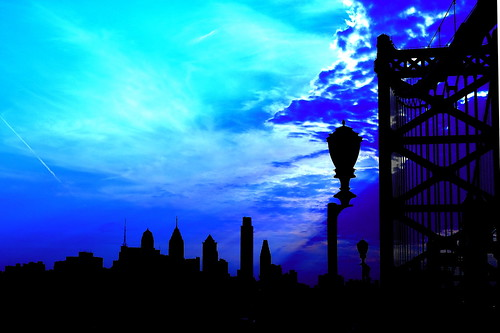 Philly Silhouetted | by jomak14