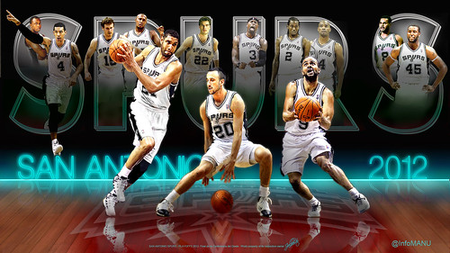 San Antonio Spurs Team 2012 | by jalberto - pd