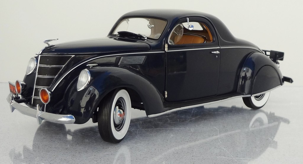 1937 lincoln zephyr v 12 3 window coupe a very recent