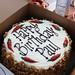Paul's gorgeous cake