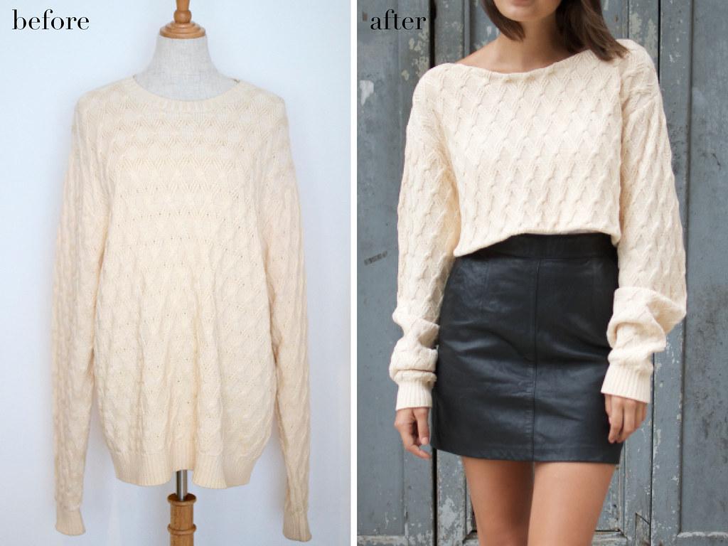 diy knit | © Geneva Vanderzeil, A Pair & A Spare, www ...