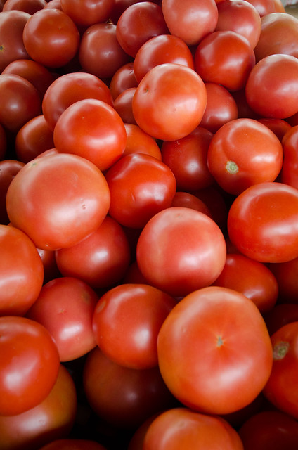 Fresh Tomato Color Classification Image Analysis