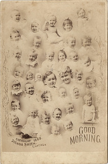 Good Morning - A Cabinet Card with 36 Happy Babies | by Photo_History - Here but not Happy