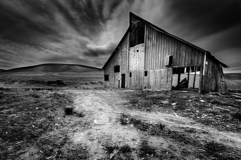 Palouse Barn Palouse Region Eastern Washington State