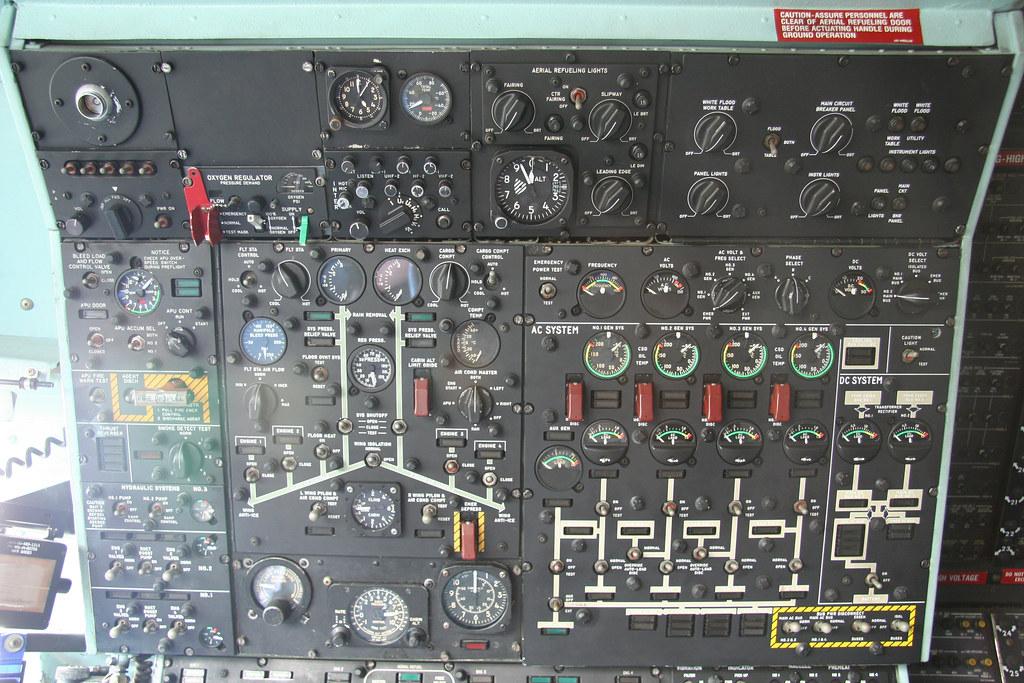Image result for flight engineer panel c141