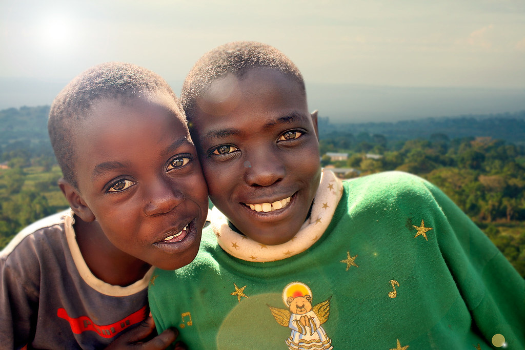 Two Happy African Children, Uganda | Җ You can also find ...