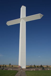 Groom Giant Cross