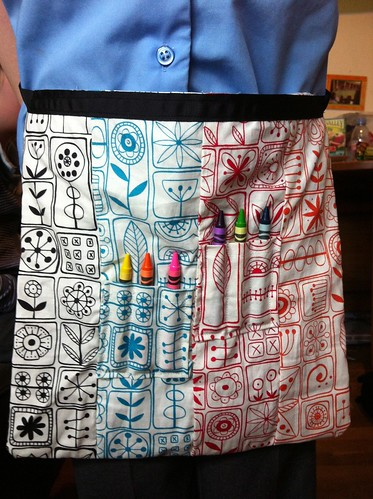 365:166 Crayon apron | by lacerslife