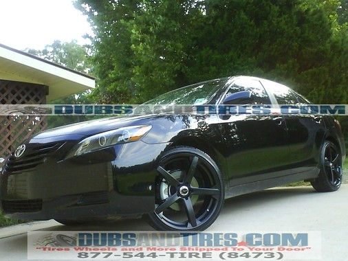 toyota camry 20 inch wheels rims drifz jade r black wheels flickr. Black Bedroom Furniture Sets. Home Design Ideas