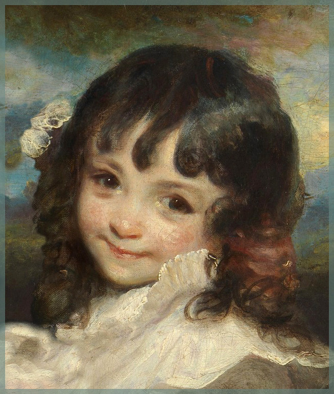 sir joshua reynolds �lady smith and her children� detail