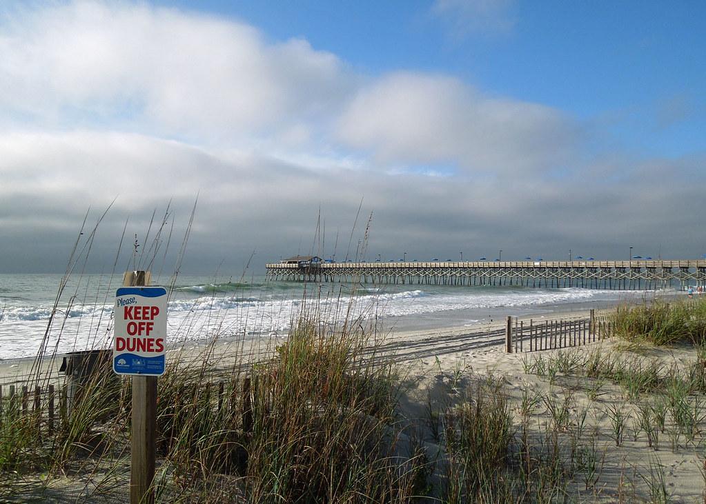 Fishing pier garden city south carolina beach fishing p edward solomon flickr for Garden city beach south carolina