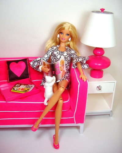 Jonathon Adler Barbie & Sofa #2 | by Bridget_John316