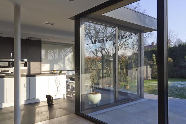 Kovera Keuken Geel : Veranda Uitbouw Keuken : Aluminium woonveranda modern, uitbouw keuken