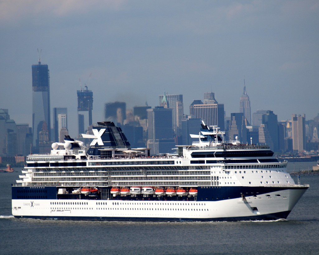 Celebrity Summit - Itinerary Schedule, Current Position ...