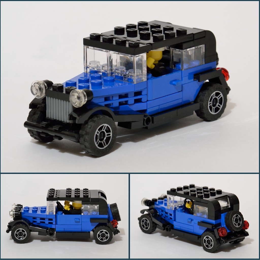 auto d 39 epoca antique car lego amaryl flickr. Black Bedroom Furniture Sets. Home Design Ideas