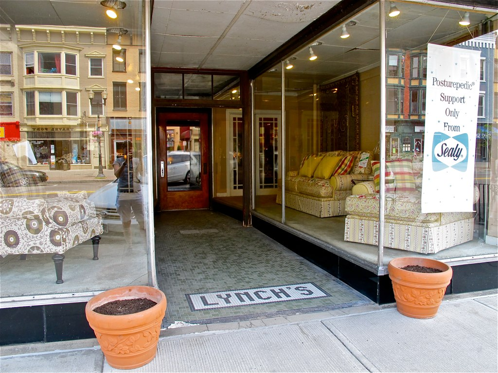 Lynch 39 s storefront geneva ny furniture store since for C furniture warehouse bradford
