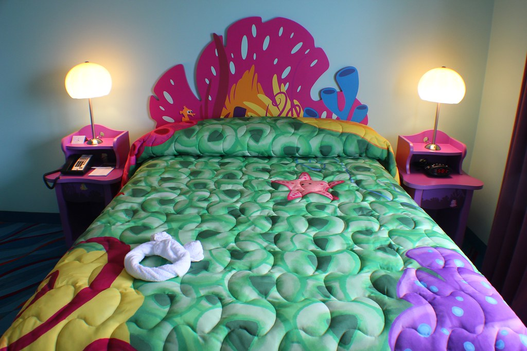 Finding Nemo Room At Disney S Art Of Animation Resort Flickr