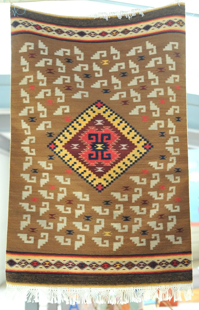 Oaxaca Zapotec Rug Mexico This Wool Rug Or Tapete Was