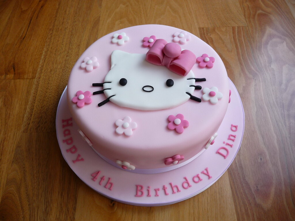 hello kitty cake this is an 8 vanilla sponge covered in. Black Bedroom Furniture Sets. Home Design Ideas