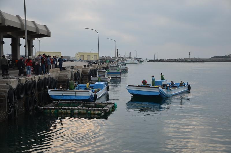 鎖港全盛時期,有100~200艘漁船。攝影:潘佳修。