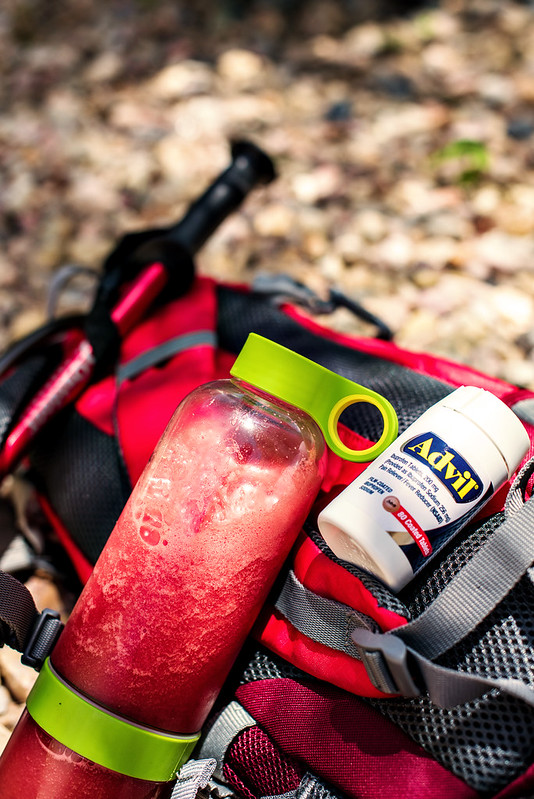 sharing this watermelon ginger agua fresca recipe for hiking ...