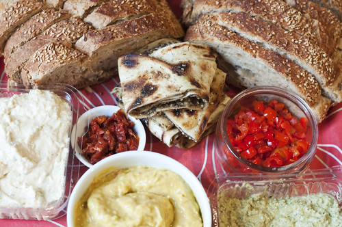 Bread and Dips | by Tiffin Tales