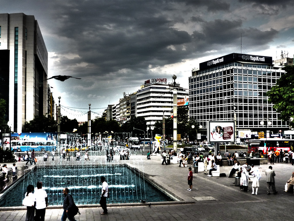 Kızılay Square/Ankara in HDR | Tahir A. | Flickr