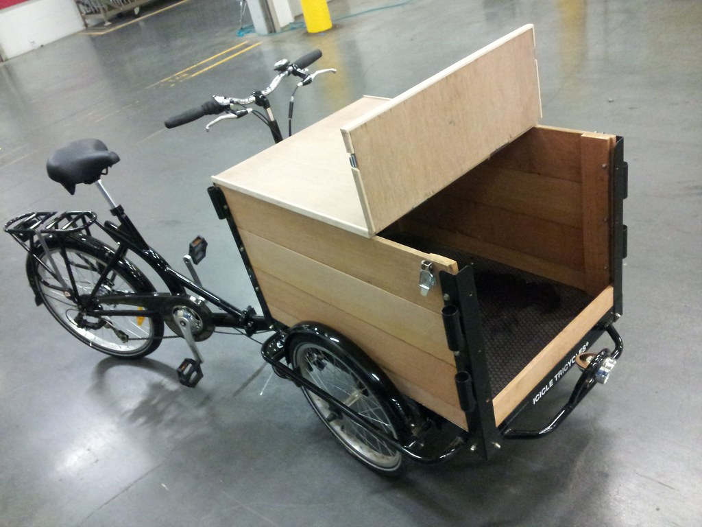 Icicle Tricycle Cargo Bike For Vending Icicle Tricycle