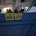 Activists on Shell's icebreaker heading for the Arctic