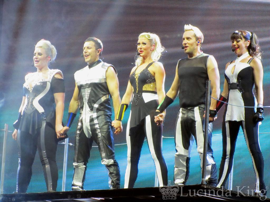 Steps Ultimate Tour Dancers