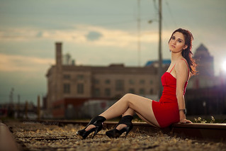 Red dress | by convergingphoto