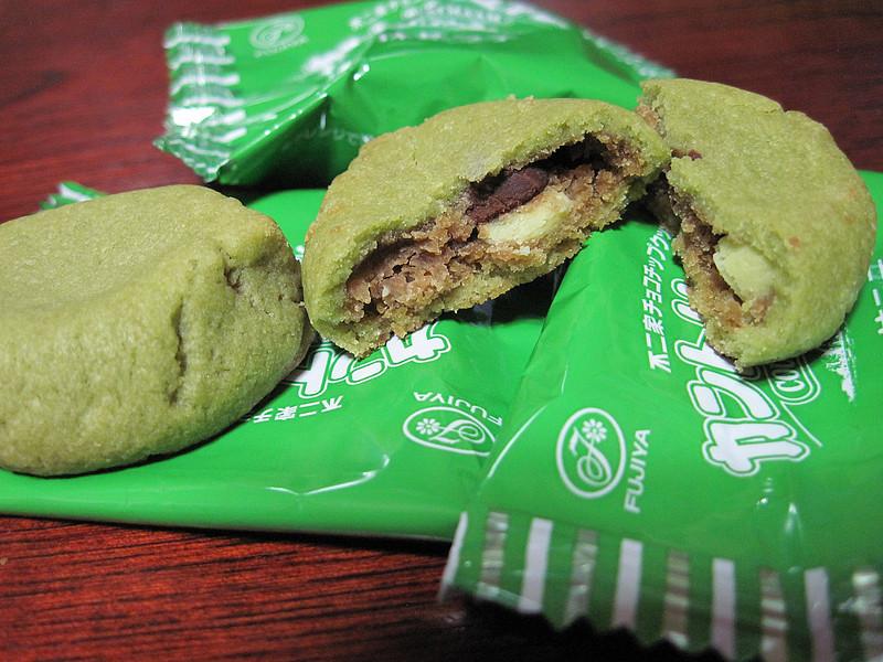 Fujiya Country Ma'am Cookies :Matcha Latte | 不二家 チョコチップクッキー … | Flickr