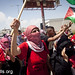 Protest commemorating the Nakba, Ofer military prison, West Bank, 15.5.2012