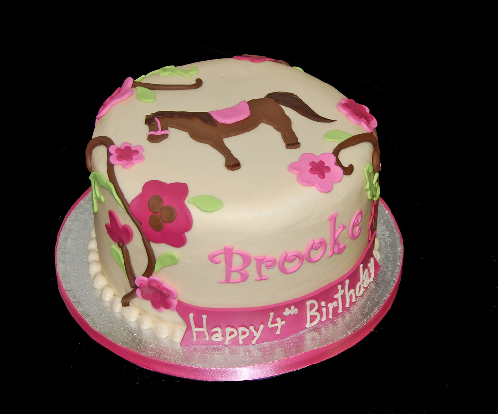 Birthday Cake Ideas With Horses