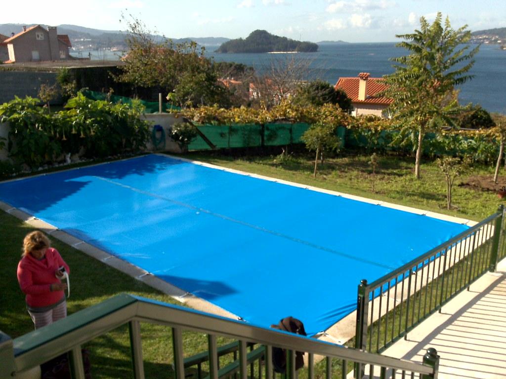 cobertor invierno gran tama o piscina 12 x 6 gran