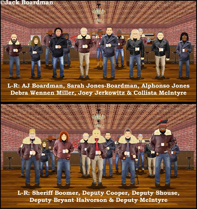 RW Based Characters Top Image & RW Blog Characters ©Jack Boardman
