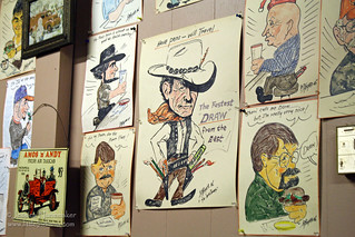 Madison, Indiana: Hammond Family Restaurant Caricatures of Regular Curstomers | by Jessica Nunemaker