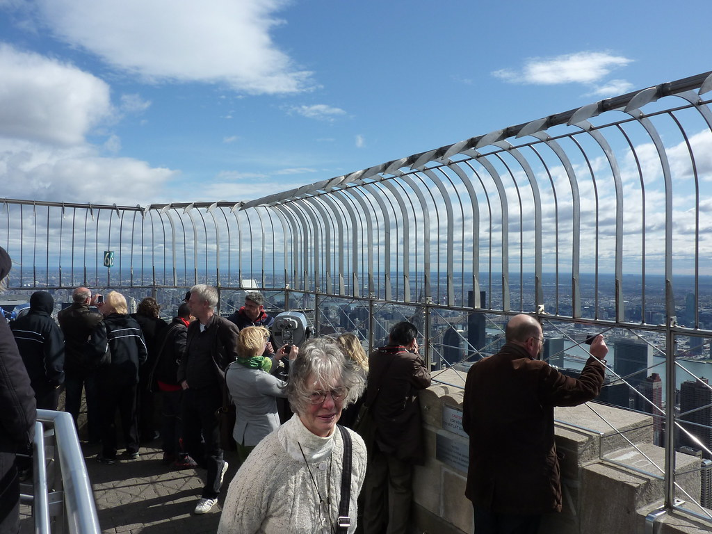 How High Empire State Building Observation Deck