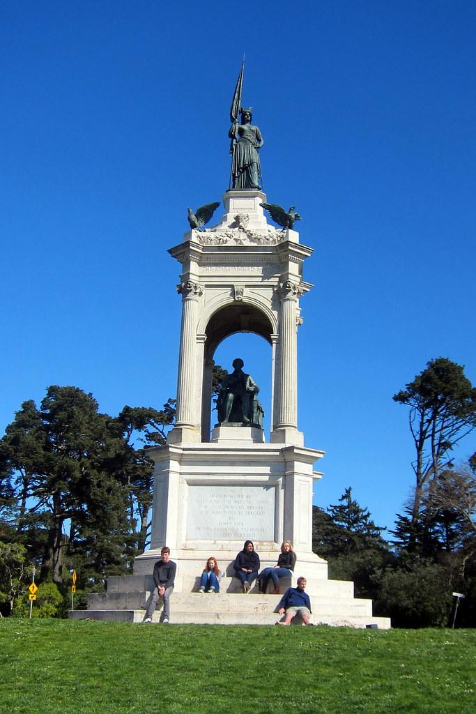 North Park Lincoln >> San Francisco - Golden Gate Park: Francis Scott Key Monume ...