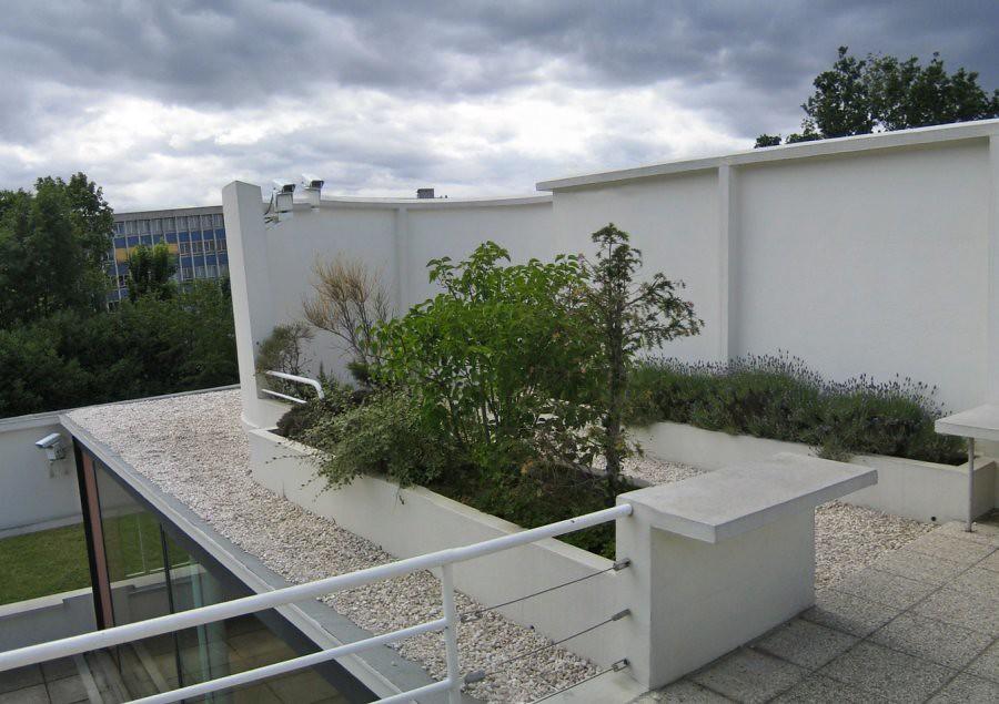 Terrasse Villa Savoye : villa savoye rooftop terrace sunjuva Flickr