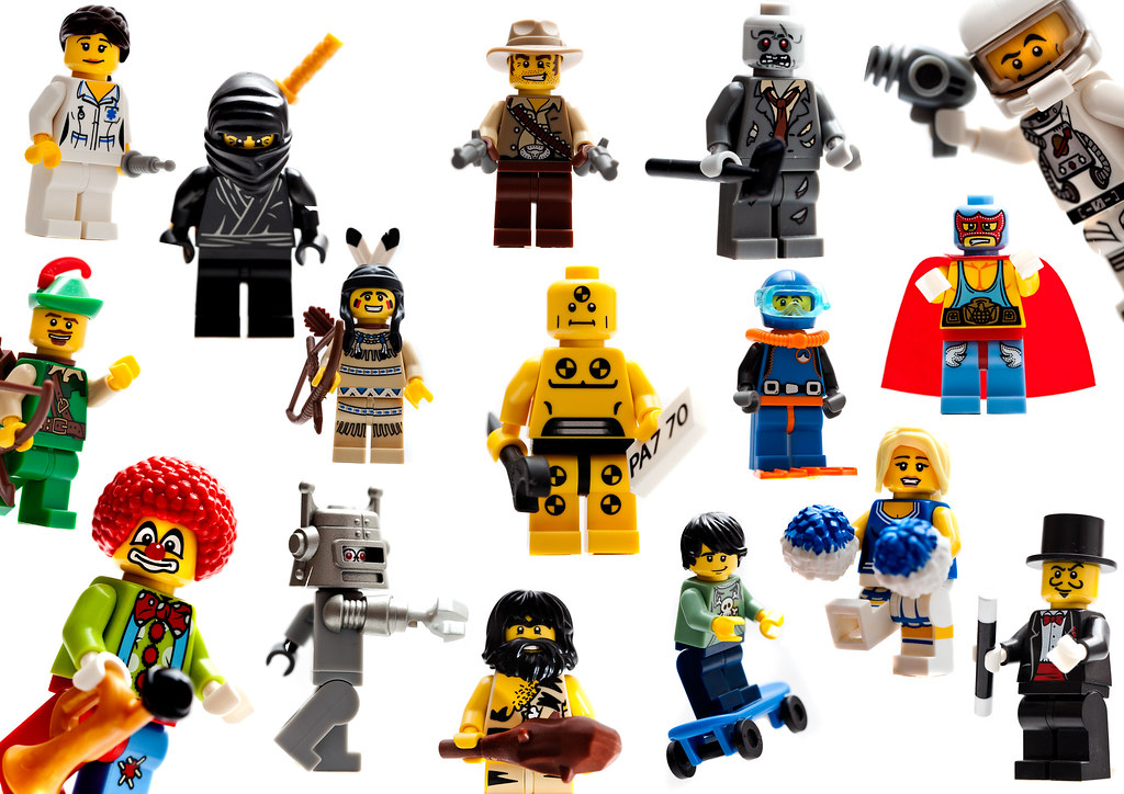 Lego Collectable Minifigures Series 1 I Have Wanted To