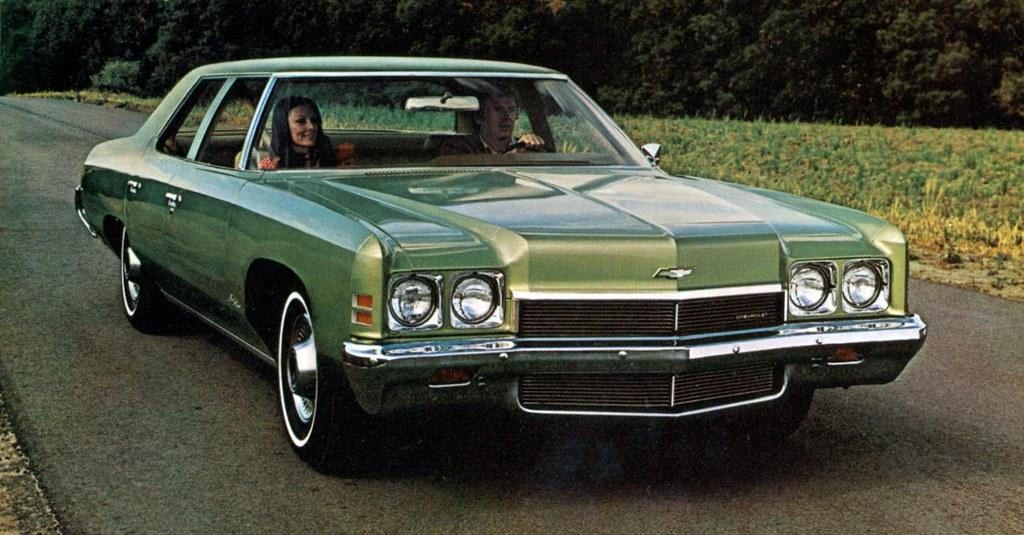1972 Chevrolet Bel Air 4 Door Sedan Coconv Flickr