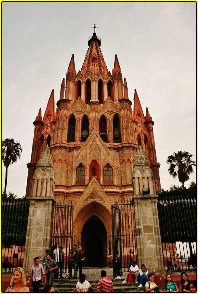 Parroquia de San Miguel Arcángel,San Miguel de Allende,Est