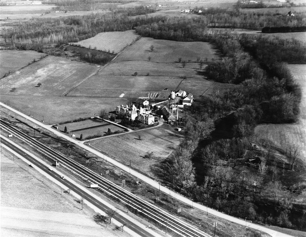 Old County Home C 1960 Today This Site Is Home To Oxbow