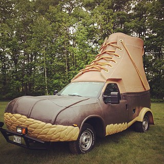 L. L. Bean Bootmobile | by Kristel Mesh