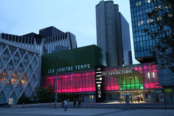 Les quatre temps the lights have come on at les quatre tem flickr - Les quatre temps boutiques ...