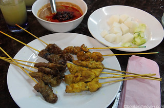 Chicken, Rabbit, Beef and Mutton Sate | by Boots in the Oven
