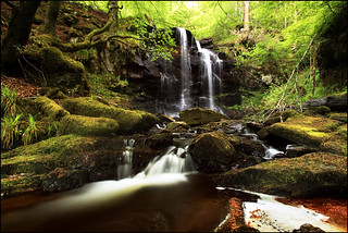 Waterfall Kenmore Perthshire | by angus clyne