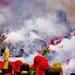 Foc i fum, el Salt de Plens infantil / Fire and smoke above the crowd