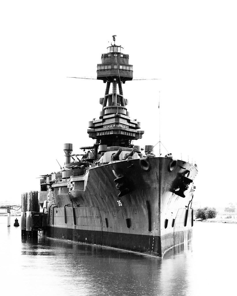 Battleship Uss Texas Bb 35 1206161345bw She S Almost
